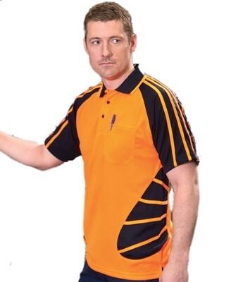 Hi Vis Spider Polo Shirt