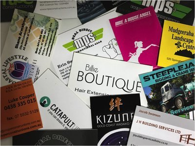 Full Colour Single Sided Business Card (500)