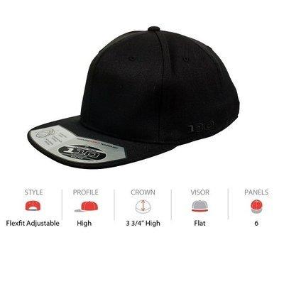 110F Flat Peak Cap