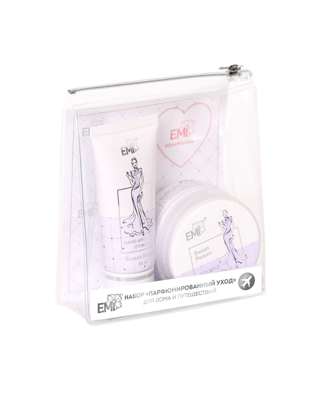 Set Perfumed Care. Extra-Nourishment and Ultra-Moisturizing Sweet Poison