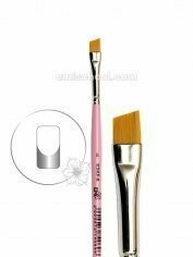 Brush Beveled square for french manicure #6