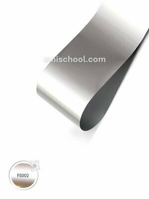 Foil satin Silver, 1.5 m.