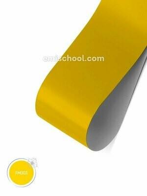 Foil matte Yellow, 1.5 m.