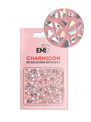 Charmicon 3D Silicone Stickers #98 Abstraction