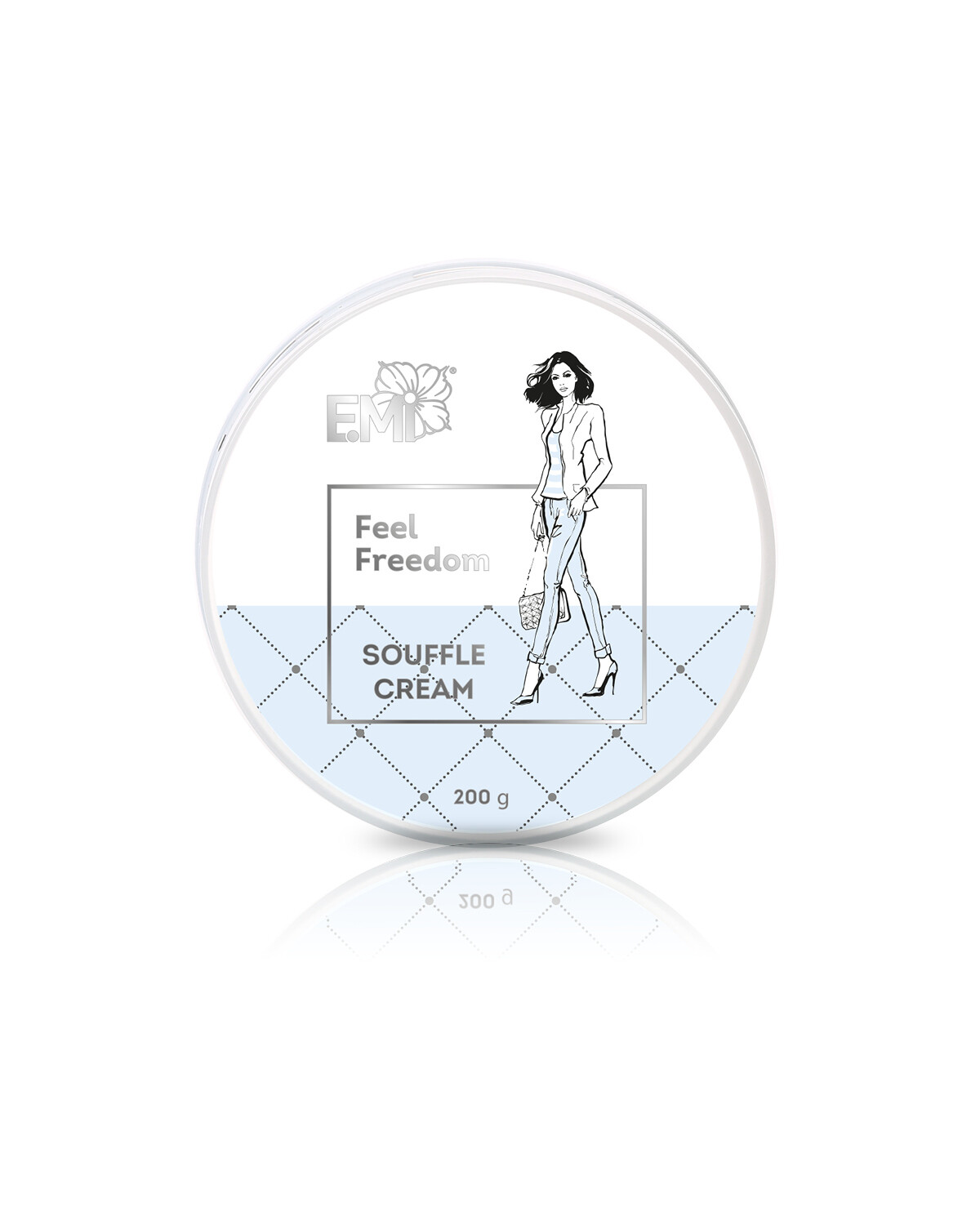 Hand and Body Cream Souffle Feel Freedom, 200 ml.