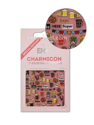 Charmicon 3D Silicone Stickers Germany 2