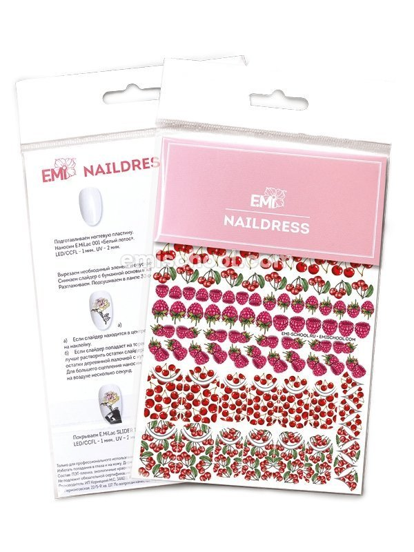Naildress Slider Design #8 Berries