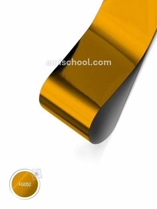 Foil glossy Pure Gold, 1.5 m.