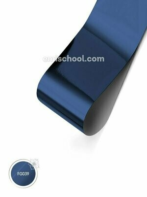 Foil glossy Blue Ice, 1.5 m.