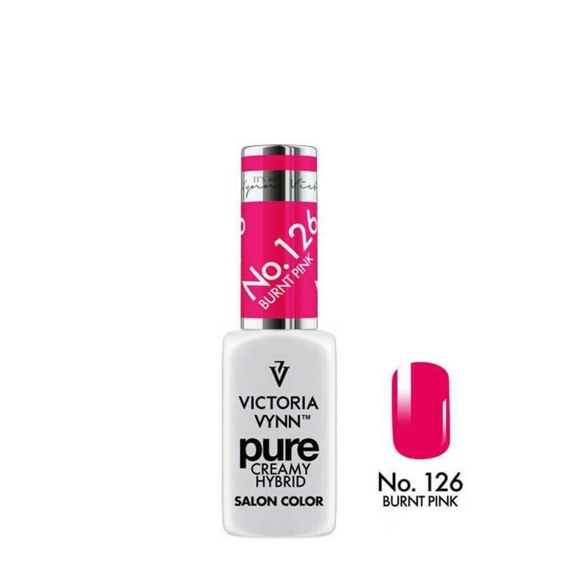 PURE CREAMY HYBRID 126 Burnt Pink 8ml