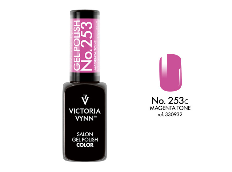 Gel Polish 253 Magenta Tone 8ml