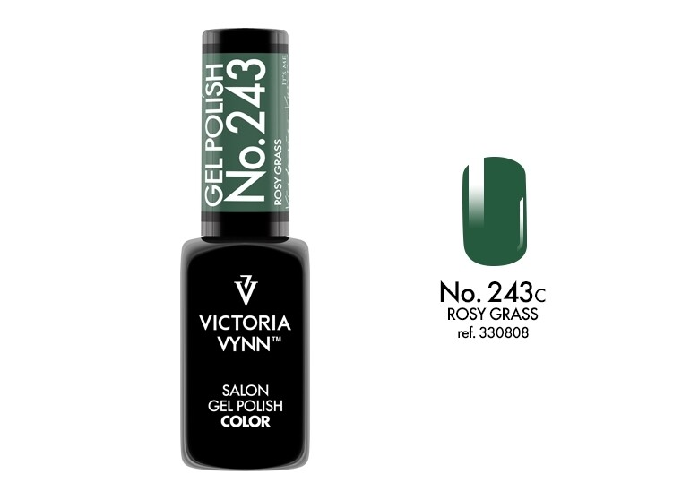 Gel Polish 243 ROSSY GRASS 8ml