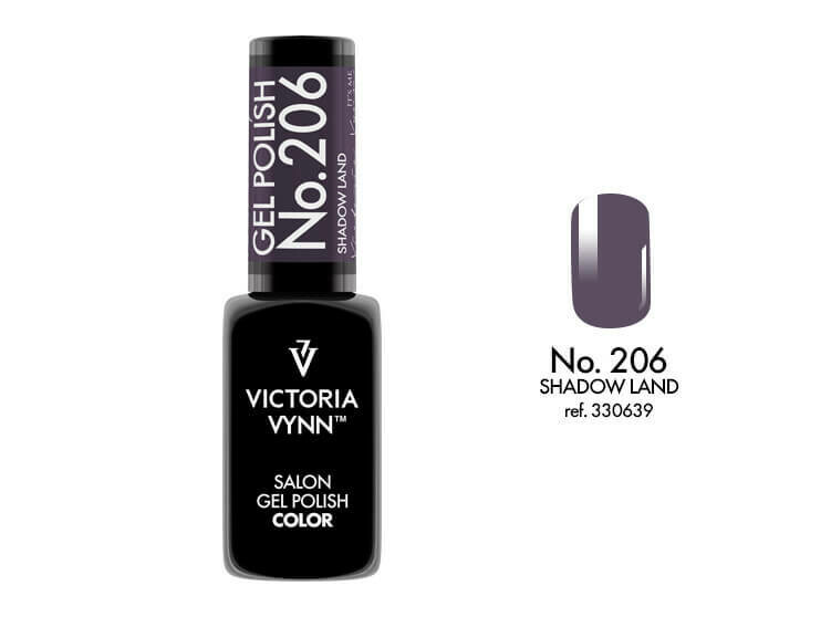 Gel Polish 206 Shadow Land 8ml