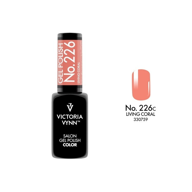 Gel Polish 226 Living Coral 8ml
