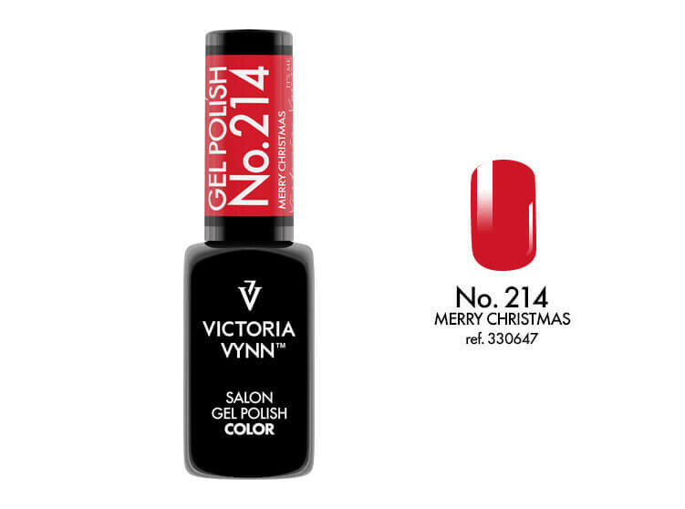 Gel Polish 214 Merry Christams 8ml