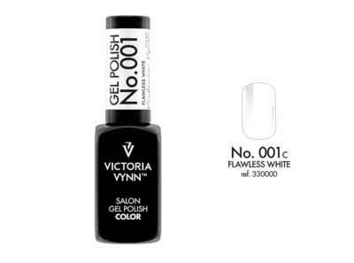 Gel Polish 001 White 8ml