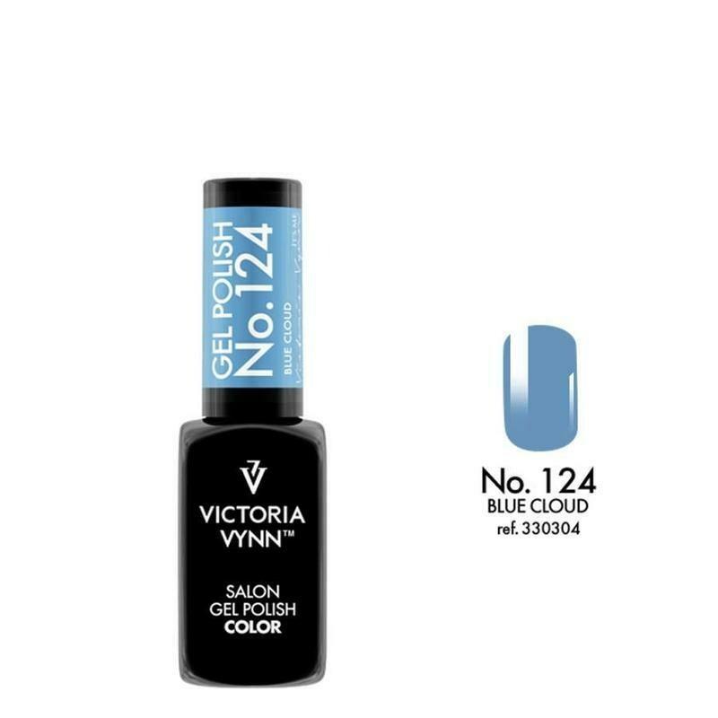 Gel Polish 124 Blue Cloud 8ml