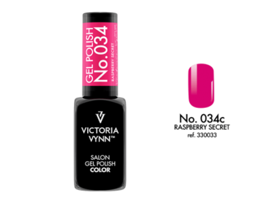 Gel Polish 034 Raspberry Secret 8ml