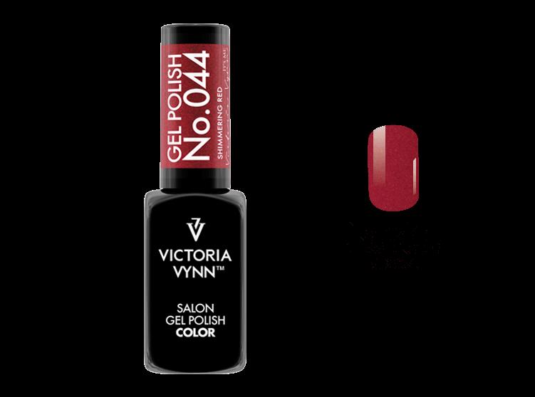 Gel Polish 044 Shimmering Red 8ml