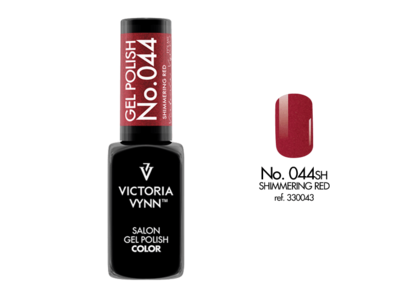 Gel Polish 044 Shimmering Red 8ml