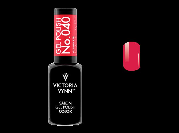 Gel Polish 040 Scarlet Red 8ml