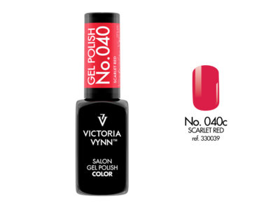 Gel Polish 040 Scarlet Red 8ml