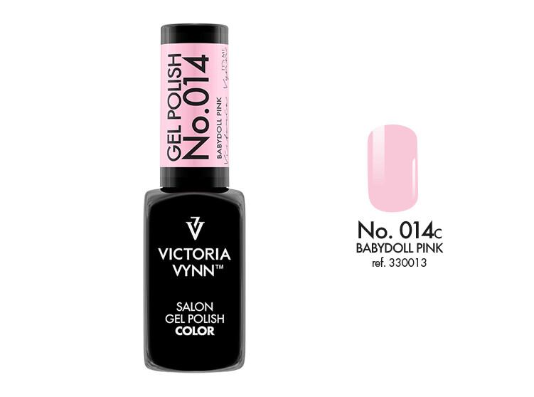 Gel Polish 014 Babydoll Pink 8ml