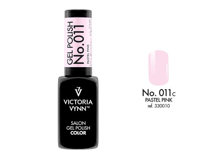 Gel Polish 011 Pastel Pink 8ml