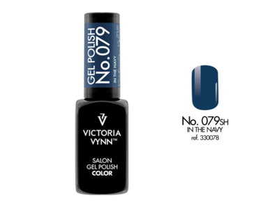 GEL POLISH COLOR NO. 079 IN THE NAVY
