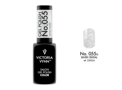 Gel Polish 055 Silver Cristal 8ml