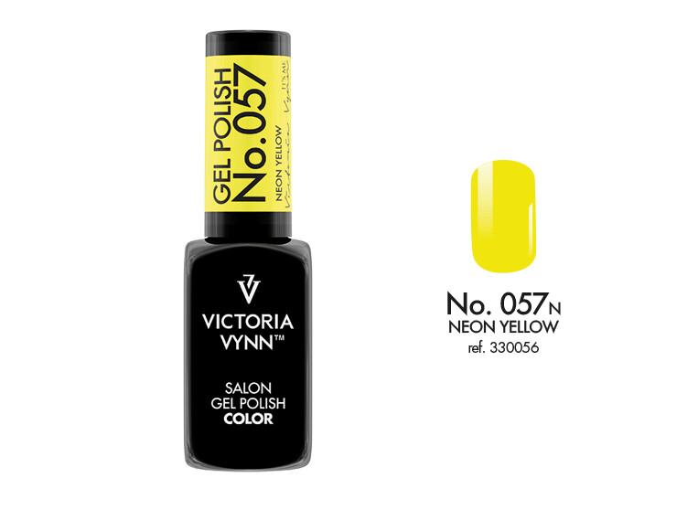 Gel Polish 057 Neon Yellow 8ml