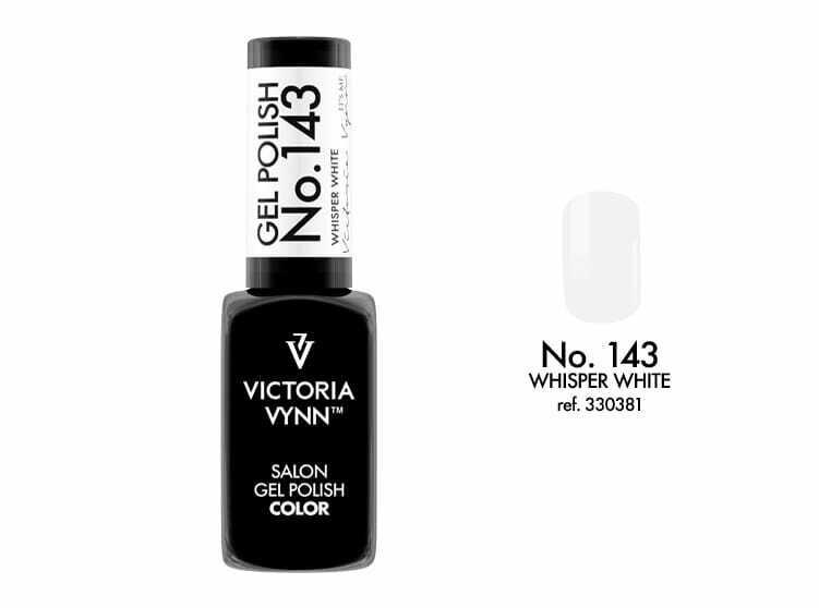 Gel Polish 143 Whisper White 8ml