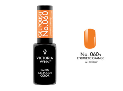 Gel Polish 060 Energetic Orange 8ml