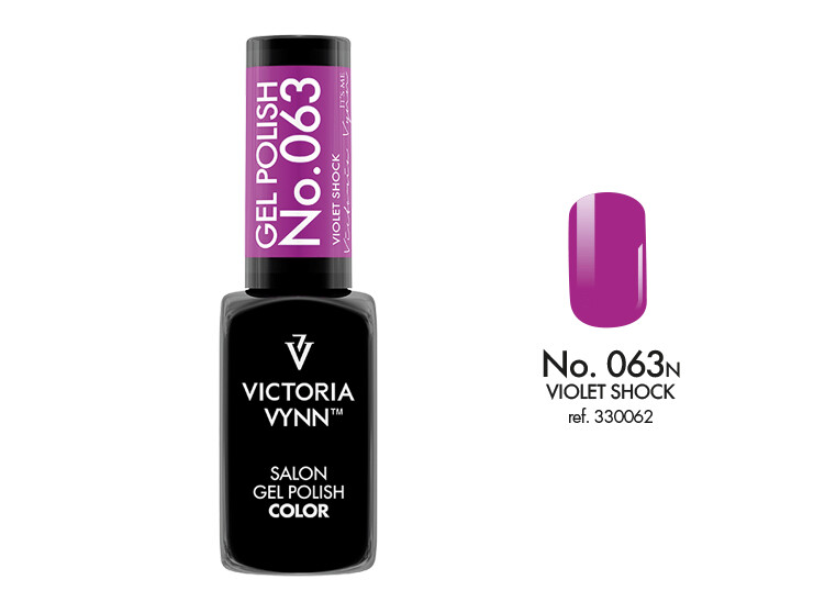 Gel Polish 063 Violet Shock 8ml