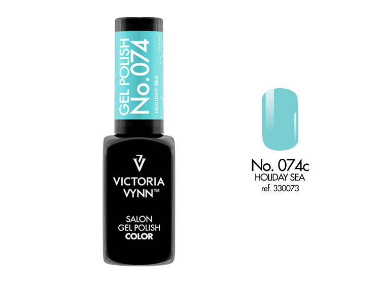 Gel Polish 074 Holiday Sea 8ml