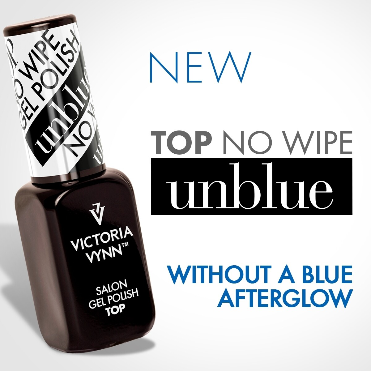 Gel Polish Top UNBLUE No Wipe 8ml