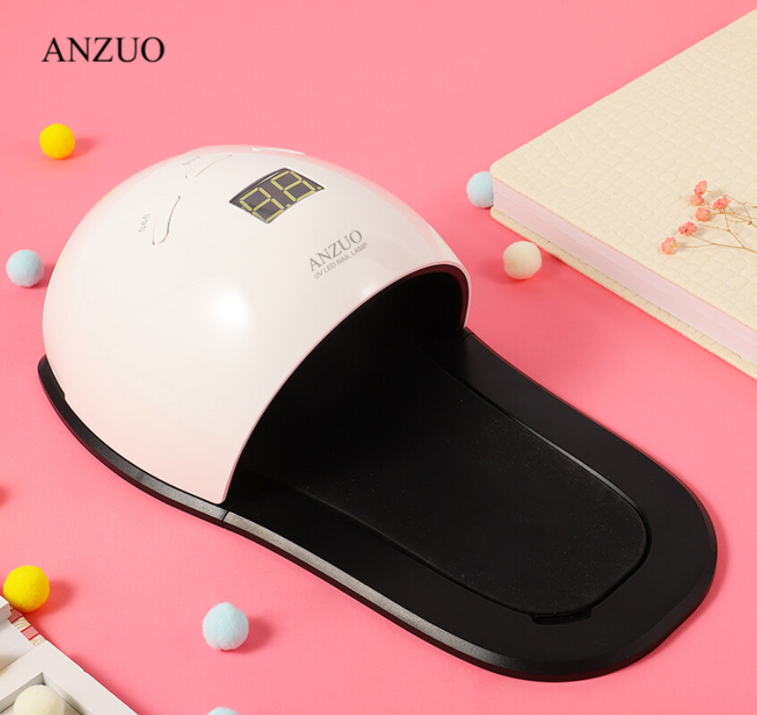 Professional Manicure Pedicure Nail Dryer 30pcs Lamp Bead Dual UV LED Nail Lamp 48W
