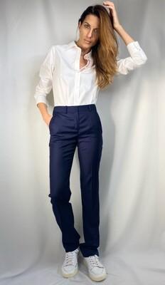 Pantaloni color blu dark