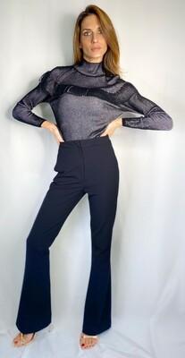 Pantalone di linea maschile con tasca a filetto