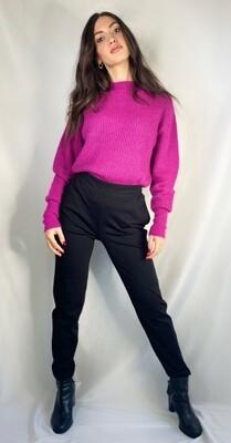 Pantaloni in tessuto tecnico skinny