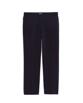Navy blue wool Audrey pants