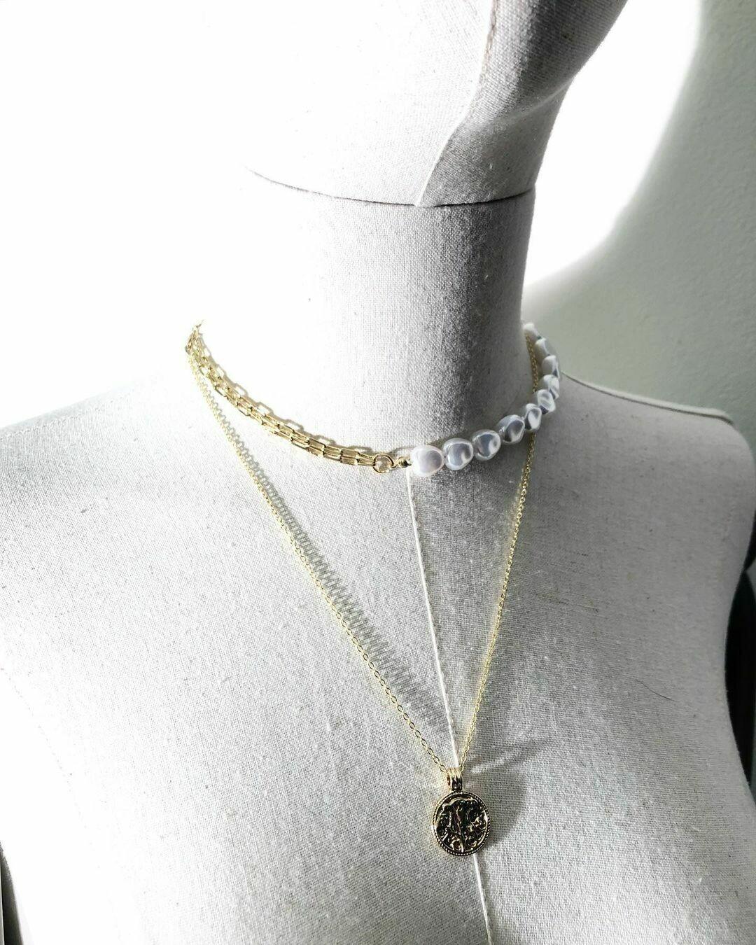 Ожерелье + цепочка с подвеской 🇮🇹