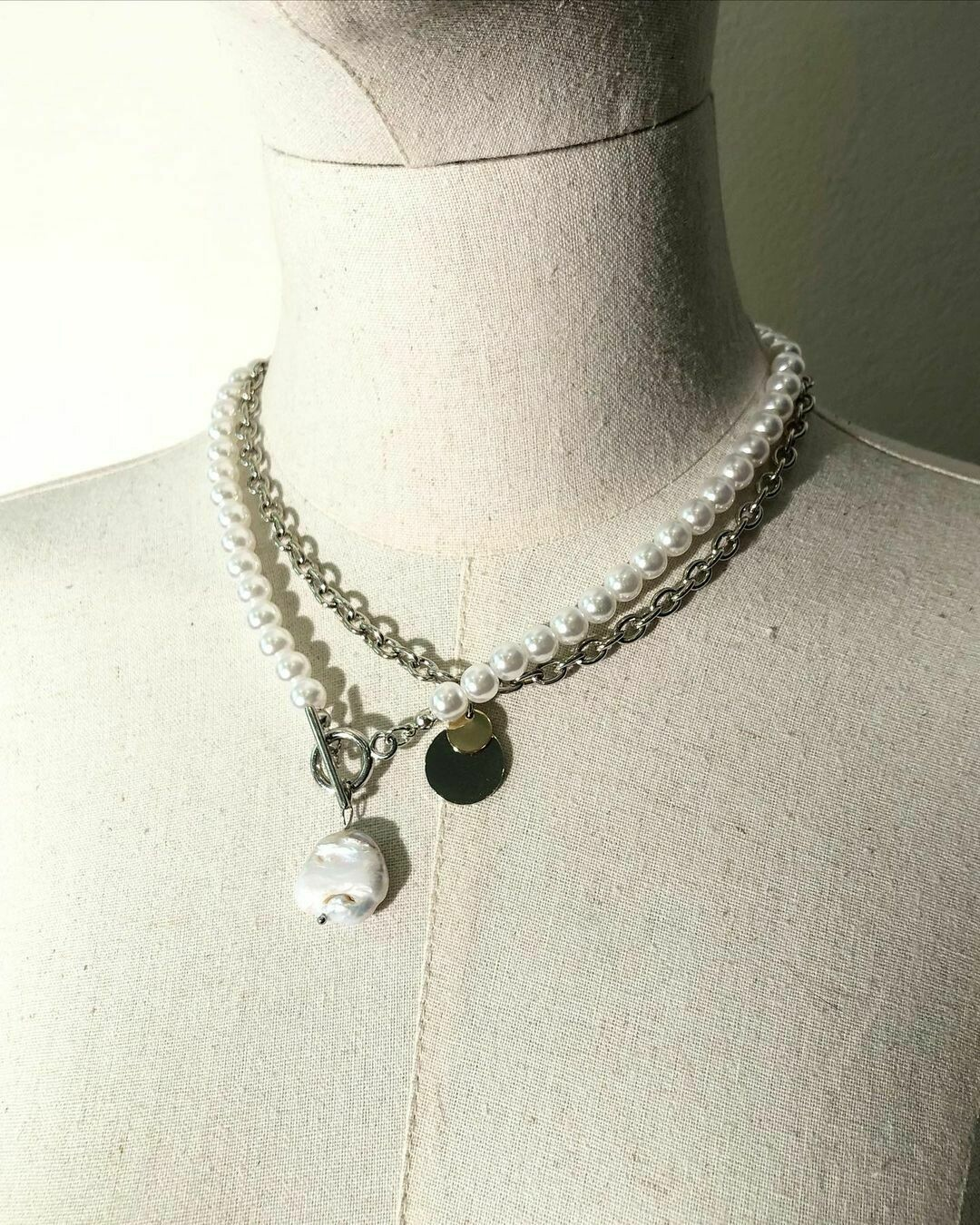 Ожерелье и цепь с подвеской 🇮🇹