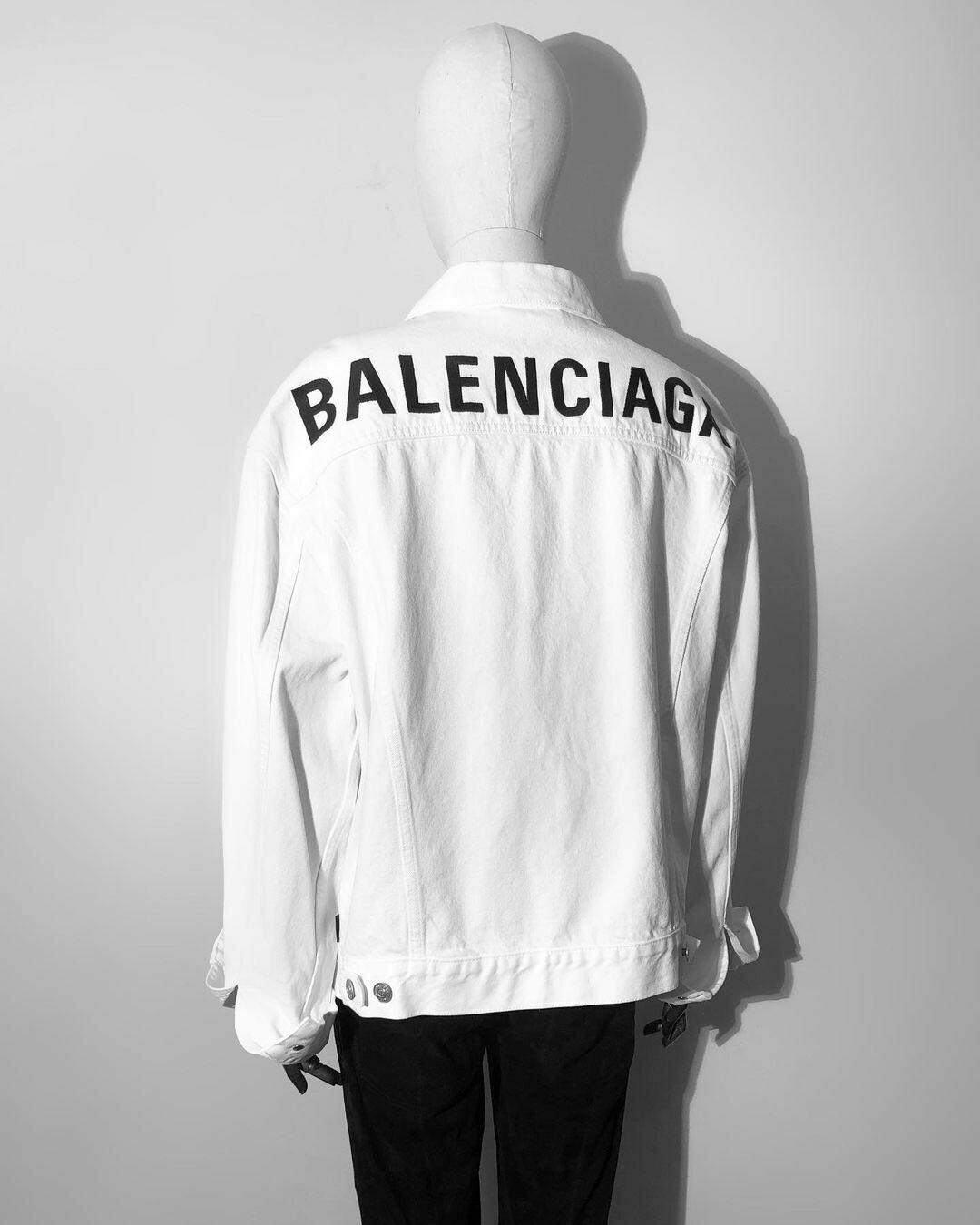 Джинсовая Куртка от BALENCIAGA