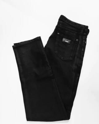 Мужские джинсы темно-синего цвета с декоративной пропиткой от Just Cavalli