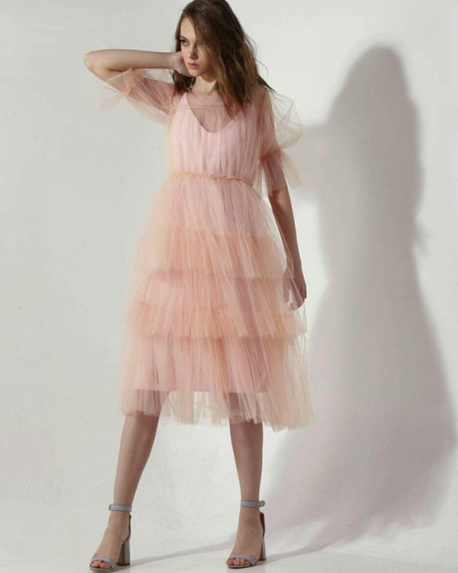 Новое платье из фатина от  So Number One