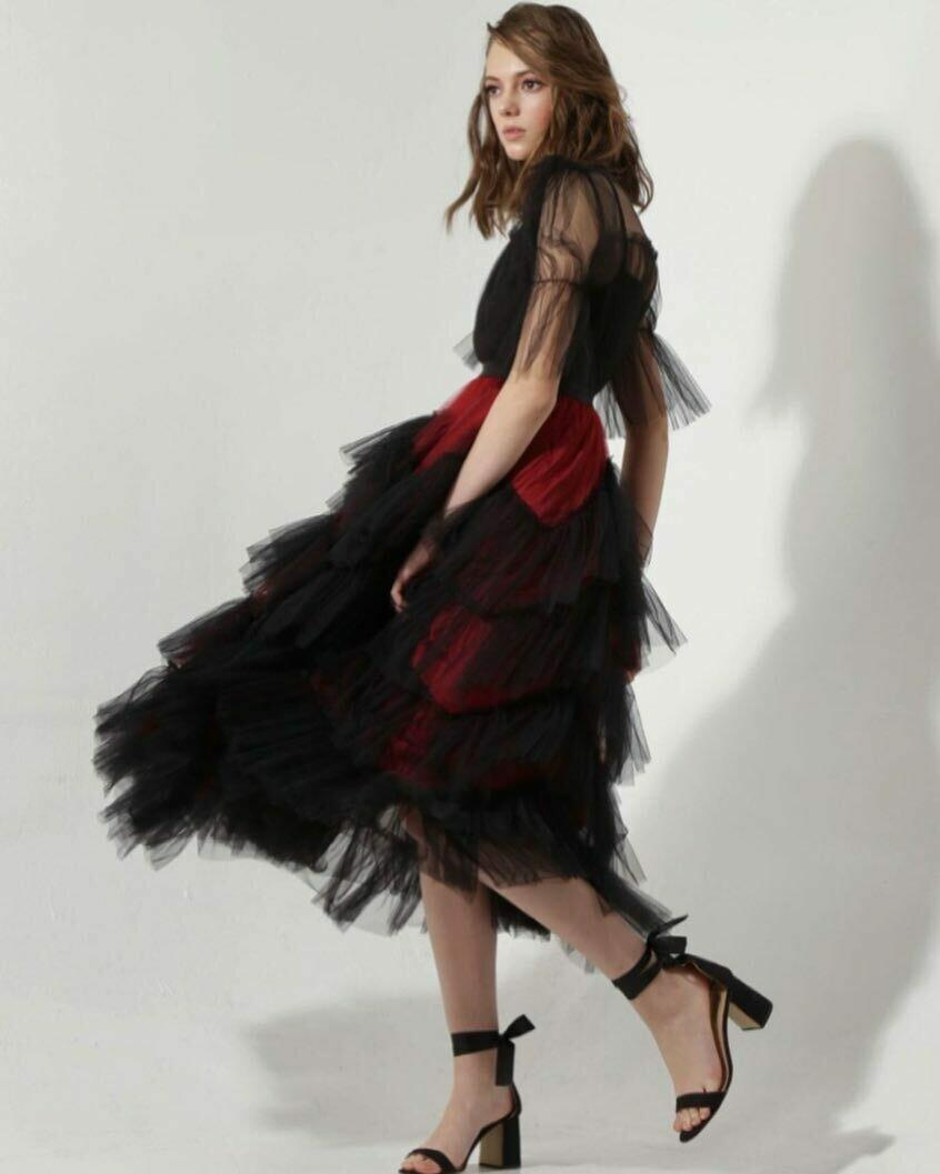 Новая юбка с декором из фатина от So Number One