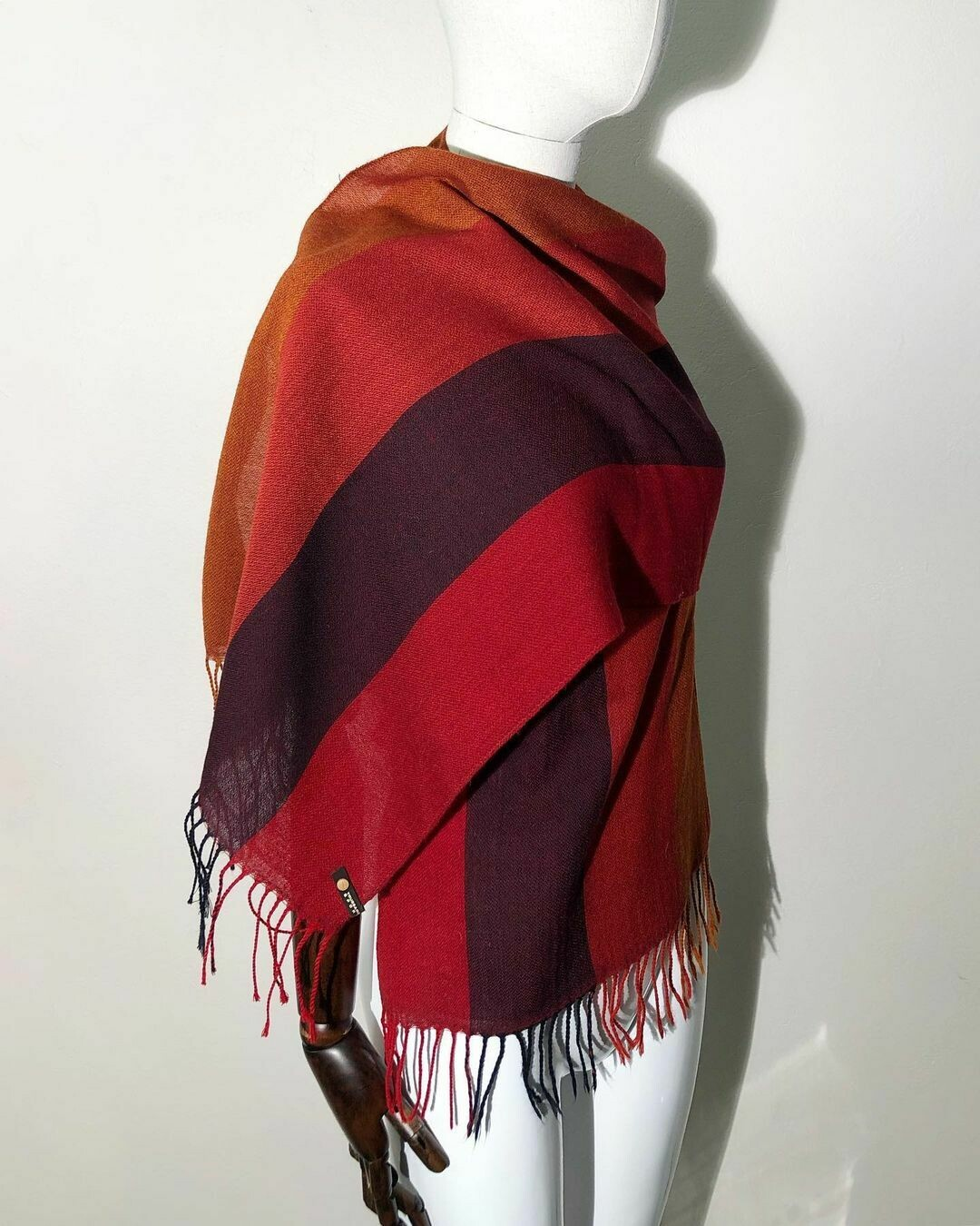 Большой шарф от Trussardi Jeans