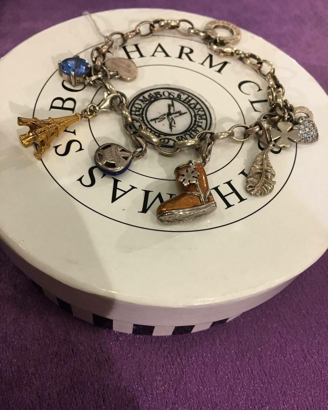 Серебряный браслет с шармами от THOMAS SABO