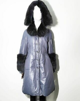 Пуховое пальто от Ermanno Scervino